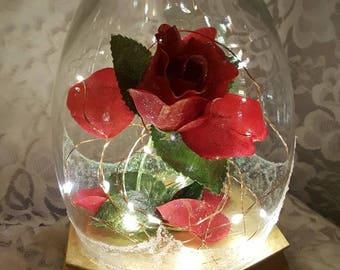 Enchanted Rose Lamp/Nightlight