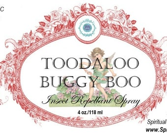 Toodaloo Buggy Boo - All Natural Insect Repellant - No Citronella!