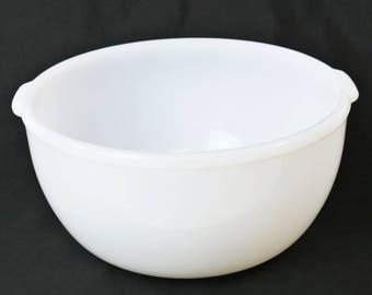 Sunbeam Mixer Large Milk Glass Mixing Bowl For Mixmaster GlasBake