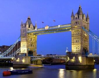 Placemat England London Tower Bridge