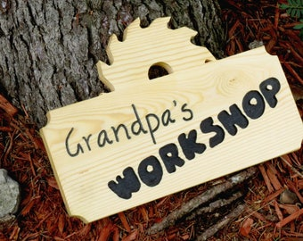 Grandpa's Workshop - PATTERN