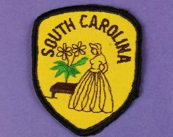 South Carolina Vintage Patch