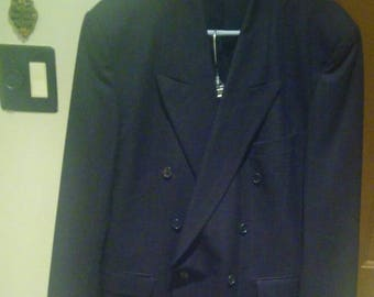 Yves Saint Laurent Suit Made In France 44R-34/32