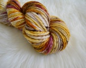 Flower Child, Bulky Weight Yarn, Hand Dyed Yarn( 50 percent Superwash Merino Wool, 50 percent Nylon)