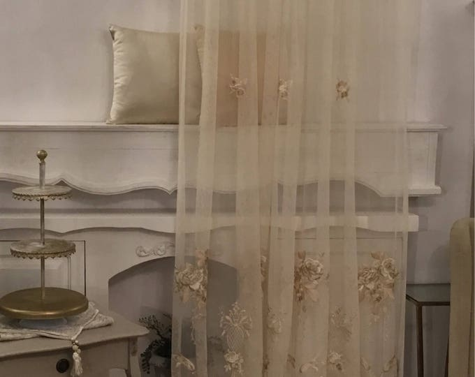 Fine antique curtain