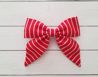 Alice Bow- Candy Cane