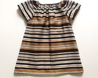 WHO DAT MUMU // new orleans saints dress // toddler girls dress