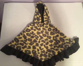 Girls car seat cover up