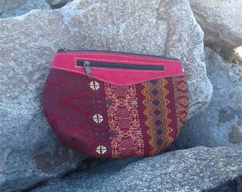 Guatemalan Makeup Bag GBP12/textile makeup bag/cosmetic bag/coin purse/textile bag/friend gift/travel bag/zipper pouch/clutch