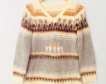 1980s Alpaca Sweater