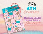 Anniversary Edition Miss Lily Shades Sticker book