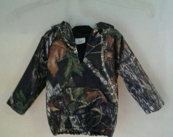 Light weight hoodies. Made with MossyOak break up -Satin fabric #1 in fabric selection  22 camo colors available
