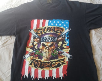 GUNS N ROSES tour shirt Use your Illusion 1991-93