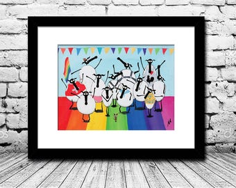 """OFFER! """"Gay And Baasexual"""" (Limited Edition Print)"""