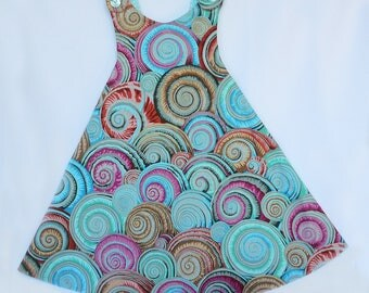 Ready to ship!  Reversible Sundress Size 4T.... A Mother's Dream!