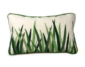 Green Grasses - Needlepoint Kit