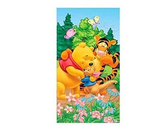 Winnie the Pooh Bear Beach towel - Personalized