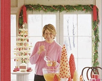 Brand New ' Christmas with Martha Stewart Living Parties and Projects for the Holidays'