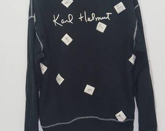 Vintage Karl Helmut big logo spellout sweatshirt