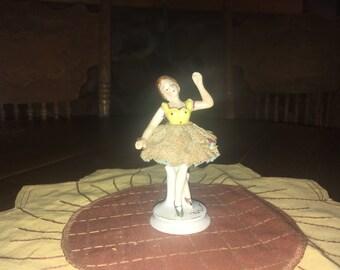 Vintage Occupied Japan Ballerina Figurine