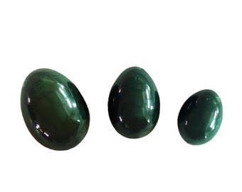 GIA Certified Jade Eggs | Canadian Nephrite Jade Yoni Egg | User Guide | Vaginal Toning | Sexual Energy | Women's Wellness | Kegels