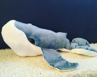 Blue Velvet Humpback whale
