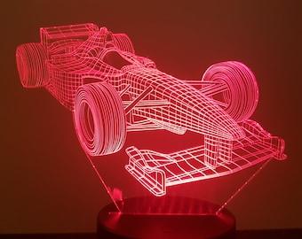 Lamp 3D pattern: formula 1
