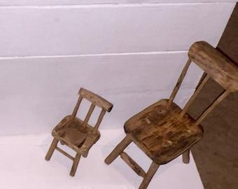 Handmade Miniature Chairs