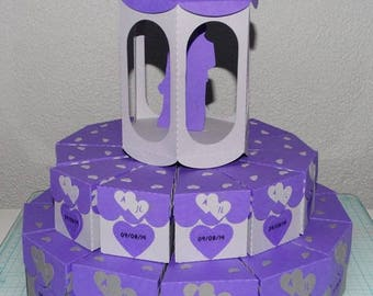 Cake box dragees