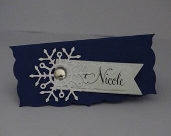 Brand instead Christmas snowflake card