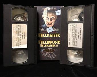 Hellraiser and Hellbound: Hellraiser II VHS