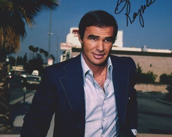 Burt Reynolds Vintage Original Hand Signed 8X10 Autograph Photo
