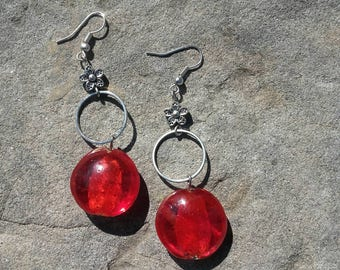 handmade jewelry women earrings earrings dangle drop earrings accessories handmade women jewelry earrings nickel free earrings red beaded