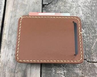 Kangaroo Leather Wallet, Minimalist Leather Wallet, Front Pocket Wallet, Leather Card Wallet, Kangaroo Leather Card Holder