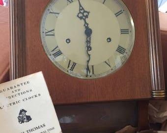 Vintage Seth Thomas Chiming Wall Clock