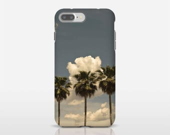 Palm Tree Phone Art, Tropical Phone Case, Palm Tree Decor, Photo Phone Case, Samsung Cell Case, Mobile Phone Covers, iPhone Accessory