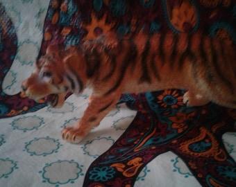 Vintage Hard Rubber Tiger Toy
