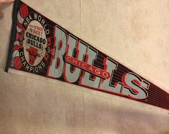 1993 Chicago Bulls Pennant