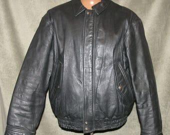 Used leather jackets | Etsy