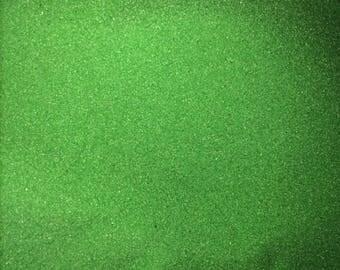 12 oz Crafting sand, Incense Burner Sand, Green Sand, Charcoal Sand, Greenman Organics,Base Sand,Ritual Sands, Protection Sand,Colored Sand