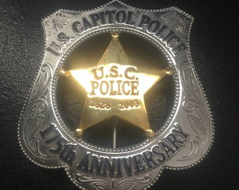 U.S. Capitol Police 175th Anniversary Badge