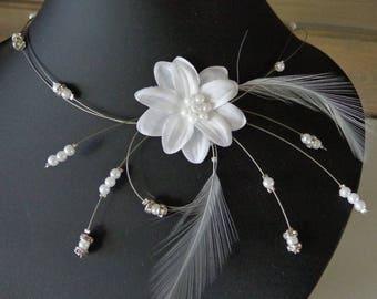 white wire flower wedding hypoallergenic