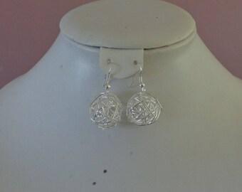 dangle earrings color silver eye-catcher in Silver 925 wedding
