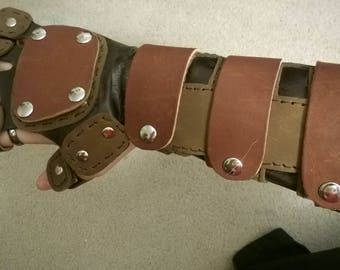 Leather Interchangeable Gauntlets