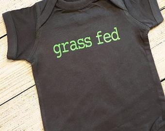 Grass Fed | Bodysuit | veggies | beef | healthy | vegetarian |