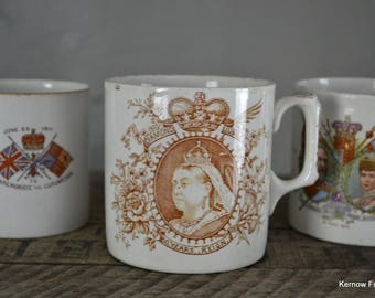 Collection Of Commemorative Cups Mugs (4)
