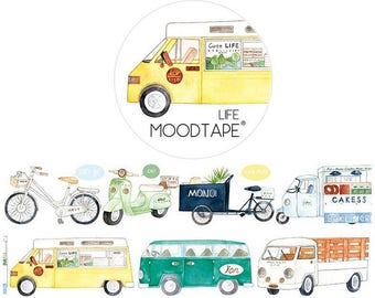 Drive!Washi Tape/Deco Masking Tape/Planner Sticker/ Deco tape TZ2104