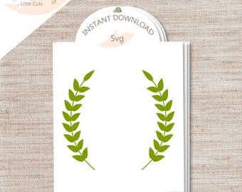 "1-""Wreath"" SVG Cut File/INSTANT Download/ Commercial Use/ Digital Cut Files/ Wreath"