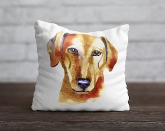 Azawak PillowCase Dog Throw Pillow Name Pet Portrait Custom Toss Pillow Silk PillowCase Satin Personalized Pillow Cover Dog Lover Gift Mom