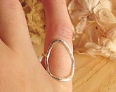 Sterling silver geometric...